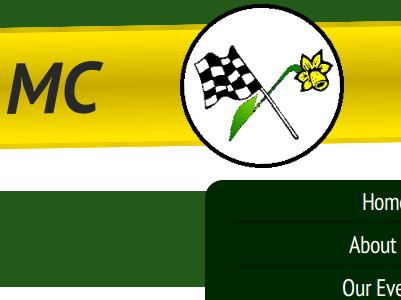 The East Elloe Motor Club website